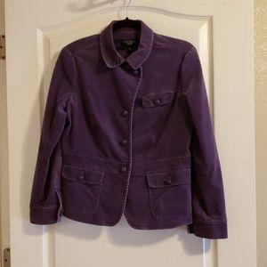 Talbots Purple crush jacket